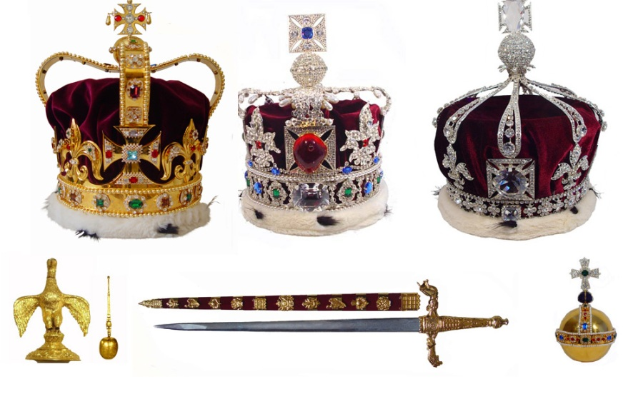 The British Crown Jewels in Replica