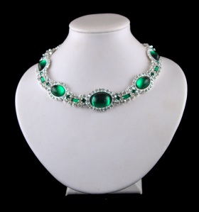 Princess Diana emerald chocker