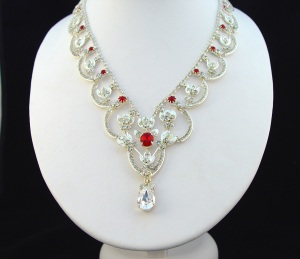 King George VI and Queen Elizabeth Bandeau Necklace