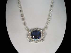 The Hope Diamond Necklace