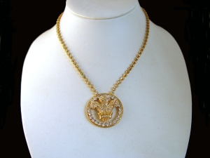 Prince of Wales Three Feathers Pendant