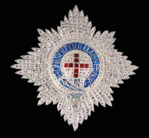 Order of the Garter - George III diamond star