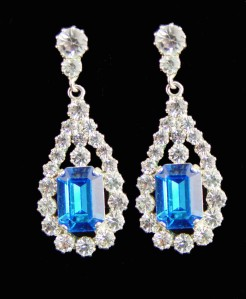 King George VI Victorian Suite earrings