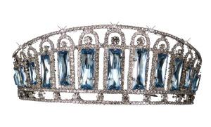 Aqua tiara