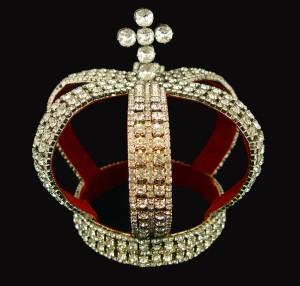 Nuptual crown of the Romanovs