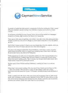 Cayman Compass News