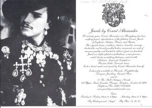 Count Alexander Poster 2
