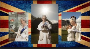 Flag background Mary Reynaulds
