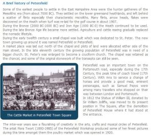 History of Petersfield