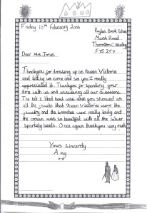 Letter to Queen Vic 2