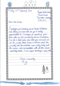 Letter to Queen Vic 4